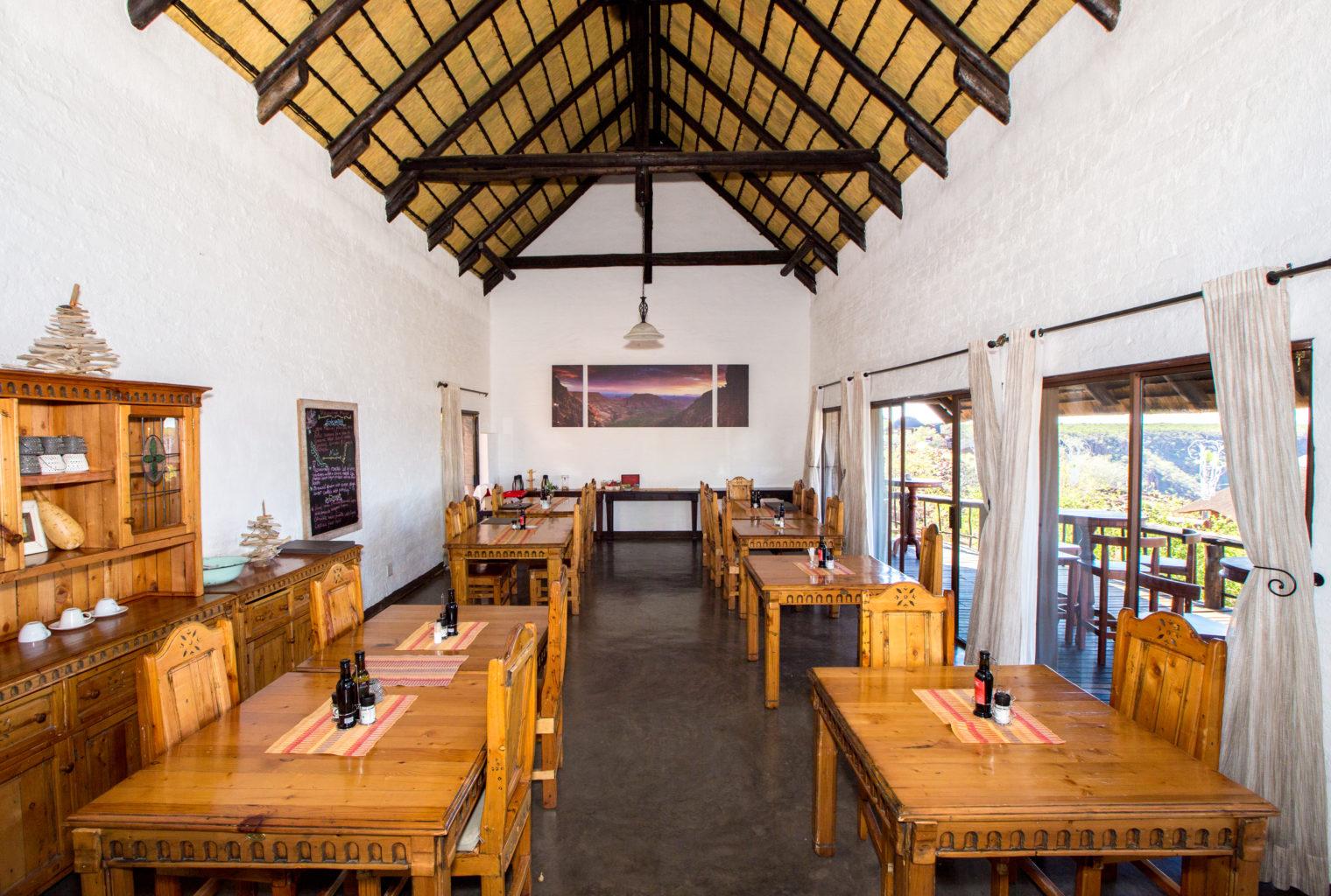 Grootberg Lodge Namibia Dining Area