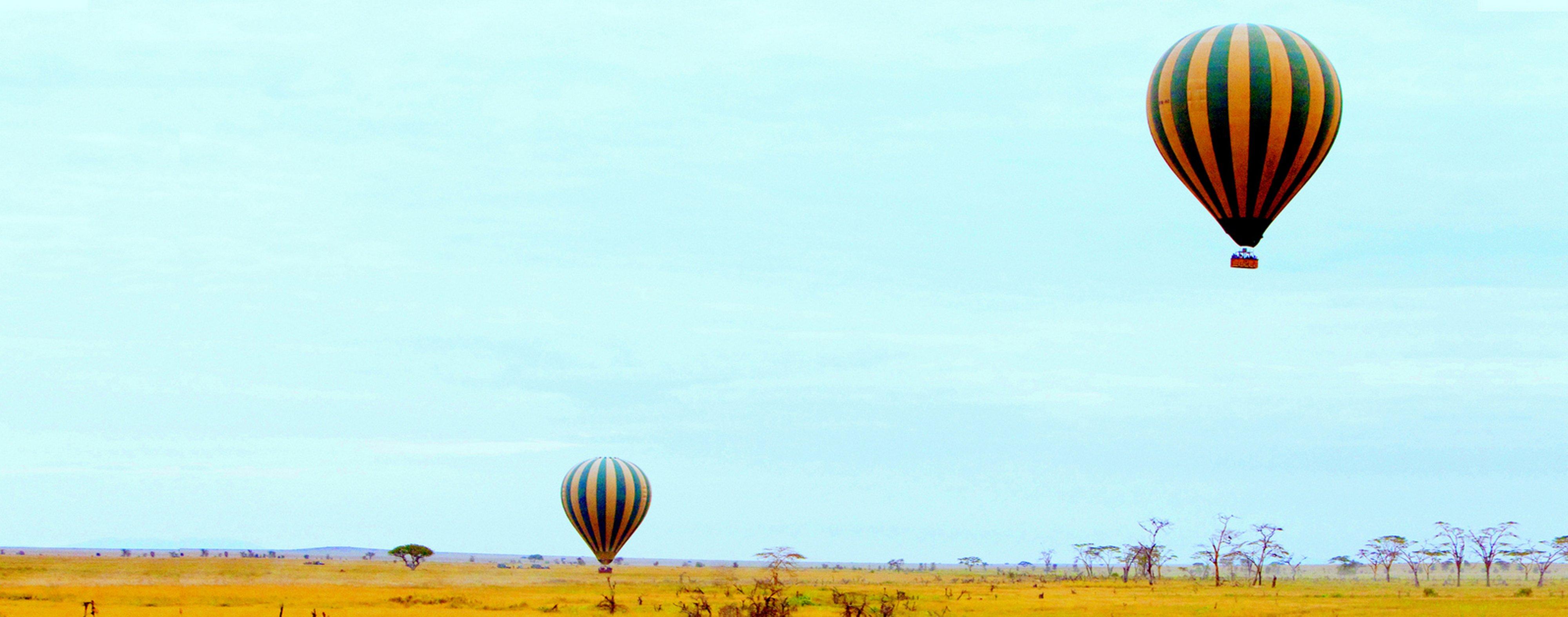 Dunia Camp Tanzania Balloon