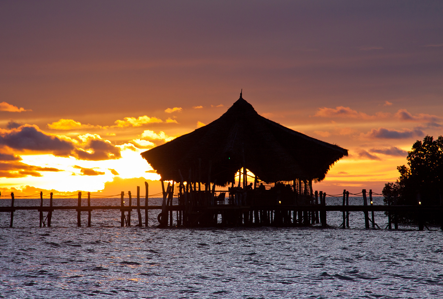 Fundu-Lagoon-Tanzania-Exterior-Sunset