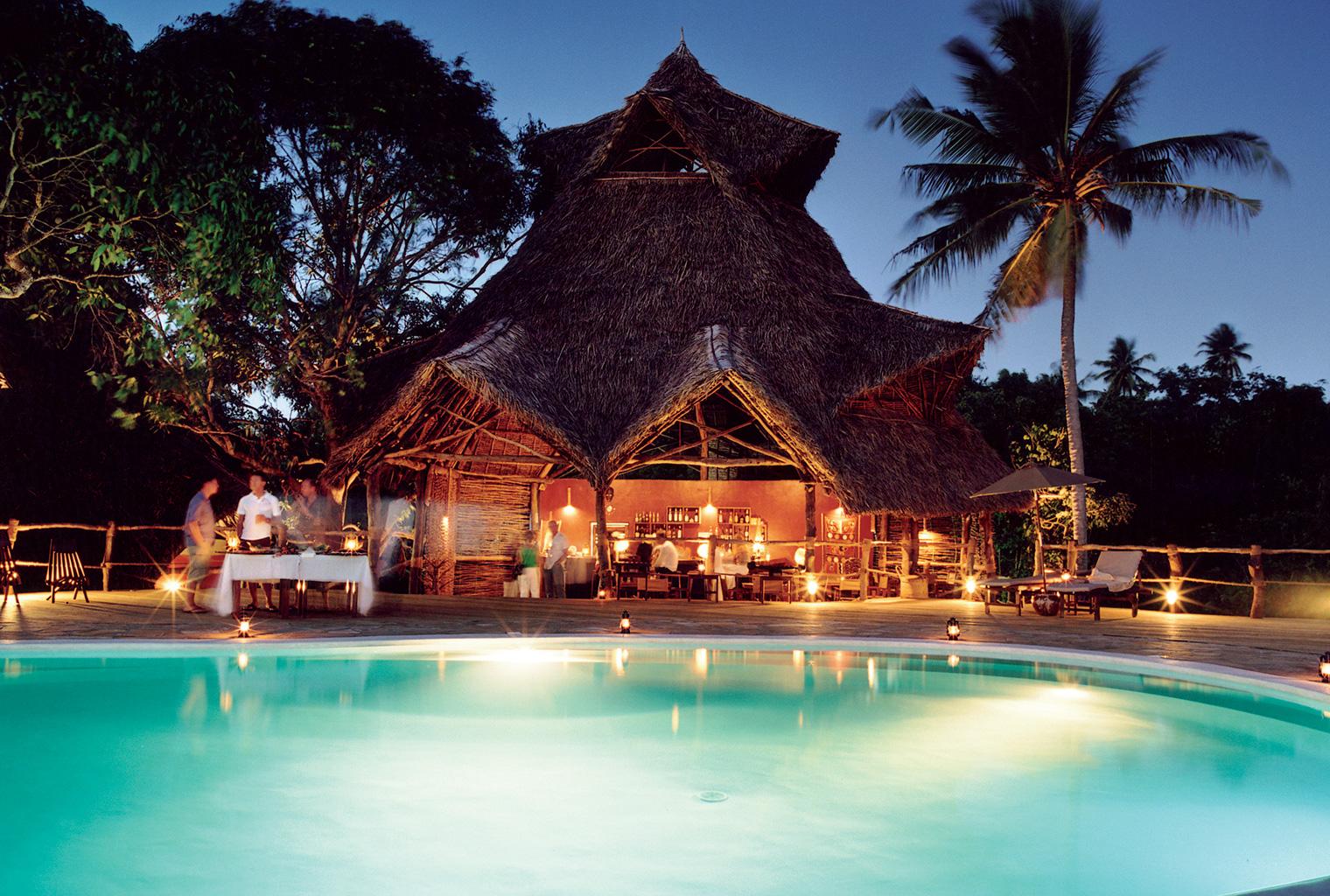 Fundu-Lagoon-Tanzania-Pool-Night