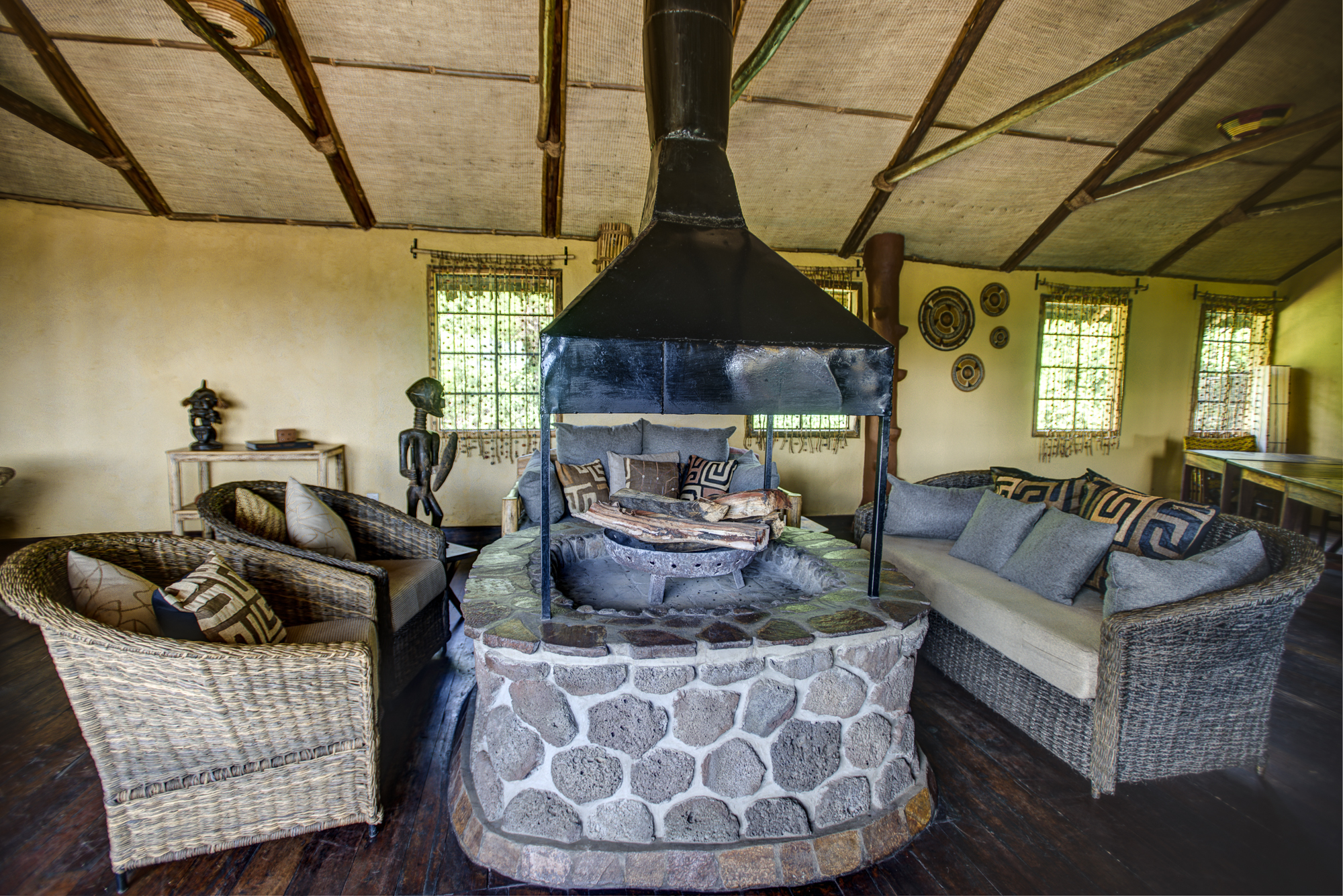Mount Gahinga Lodge Uganda interior