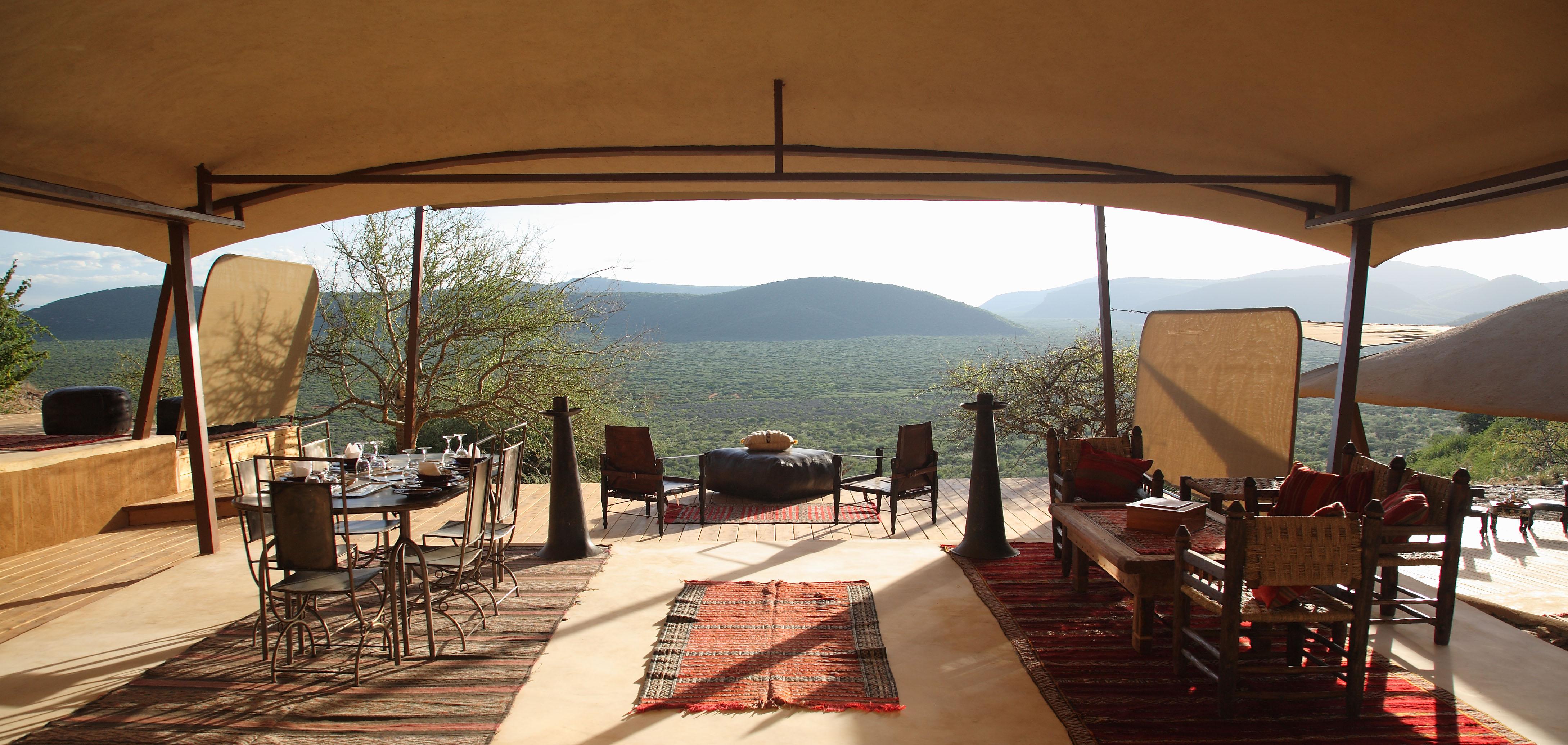 Saruni Mara Kenya Family Cottage View