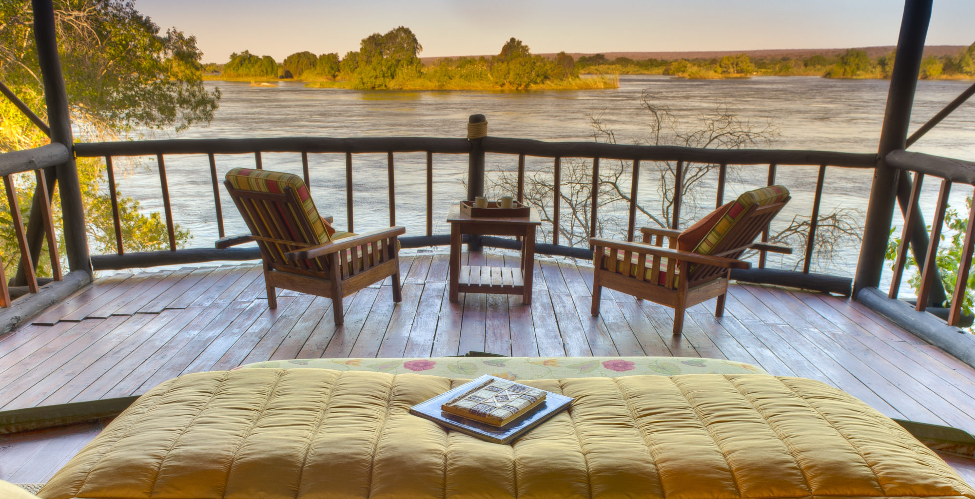 Island-of-Siankaba-Zambia Room with a view 1