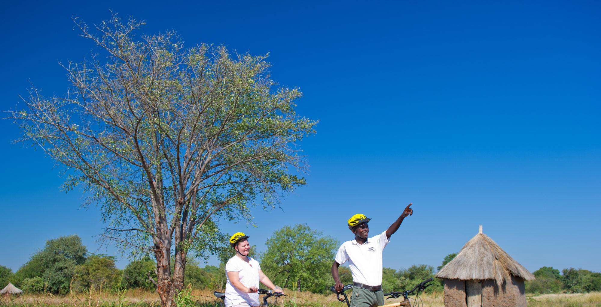 Island-of-Siankaba-Zambia-biking