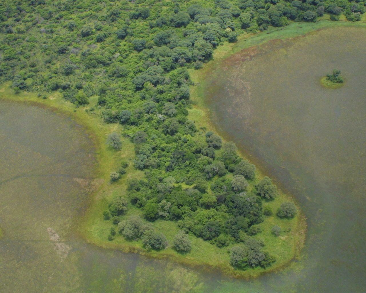 Kapinga Camp Zambia Aerial View