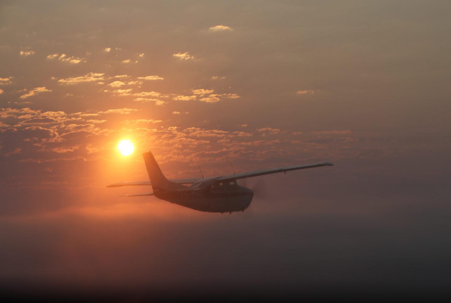 Leylandsdrift Camp Namibia Plane