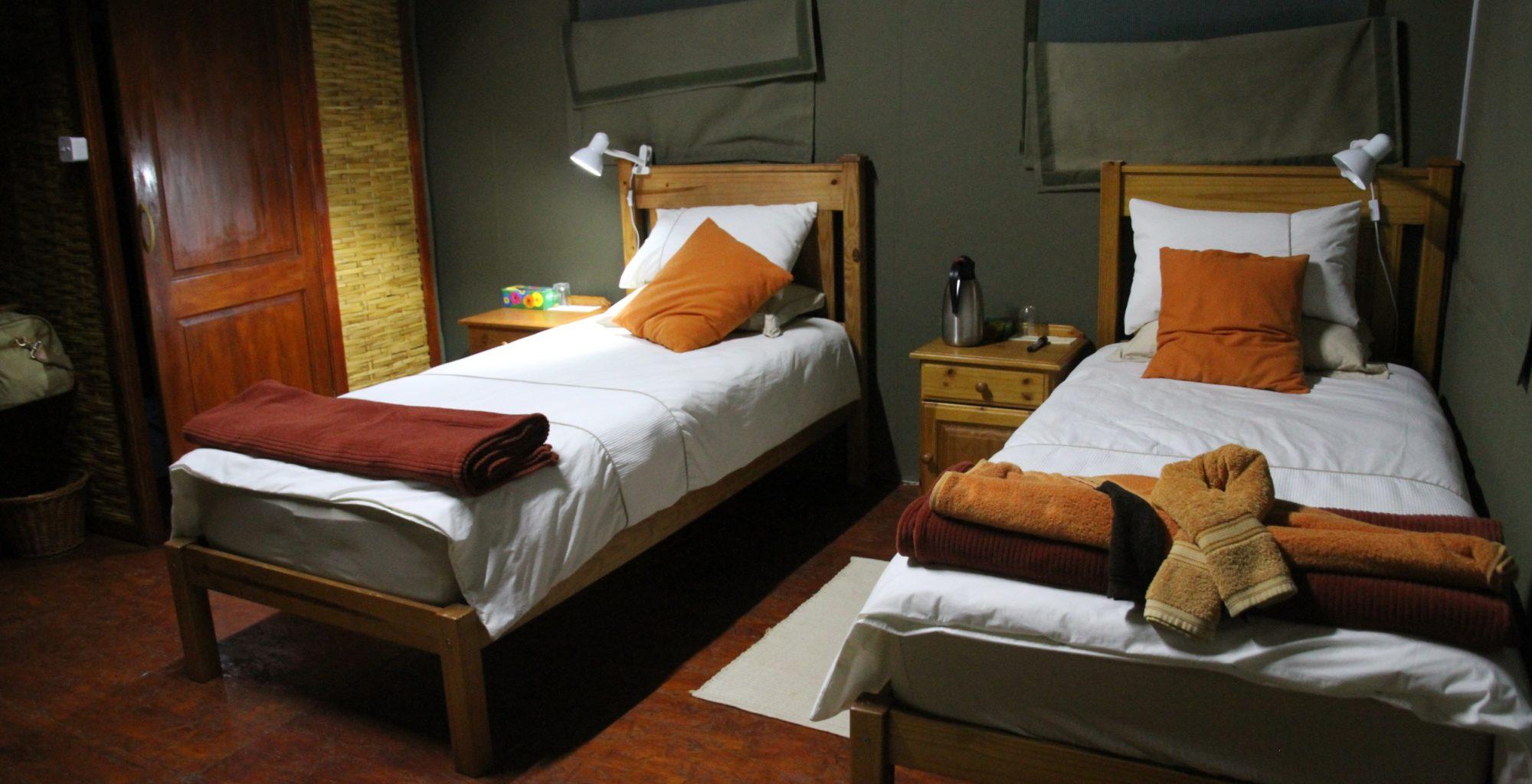 Namibia-Leylandsdrift-Camp-Bedroom