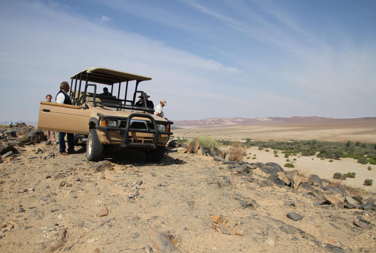 Leylandsdrift Camp Namibia Drive