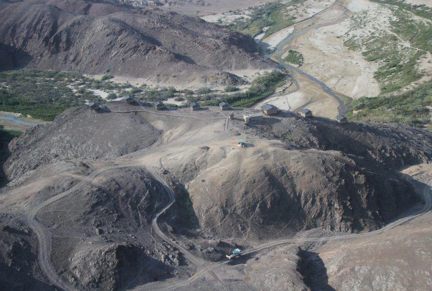 Namibia-Leylandsdrift-Camp-Aerial