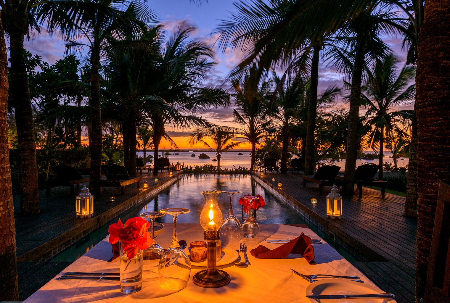 Ibo-Island-Mozambique-Poolside-Dinner