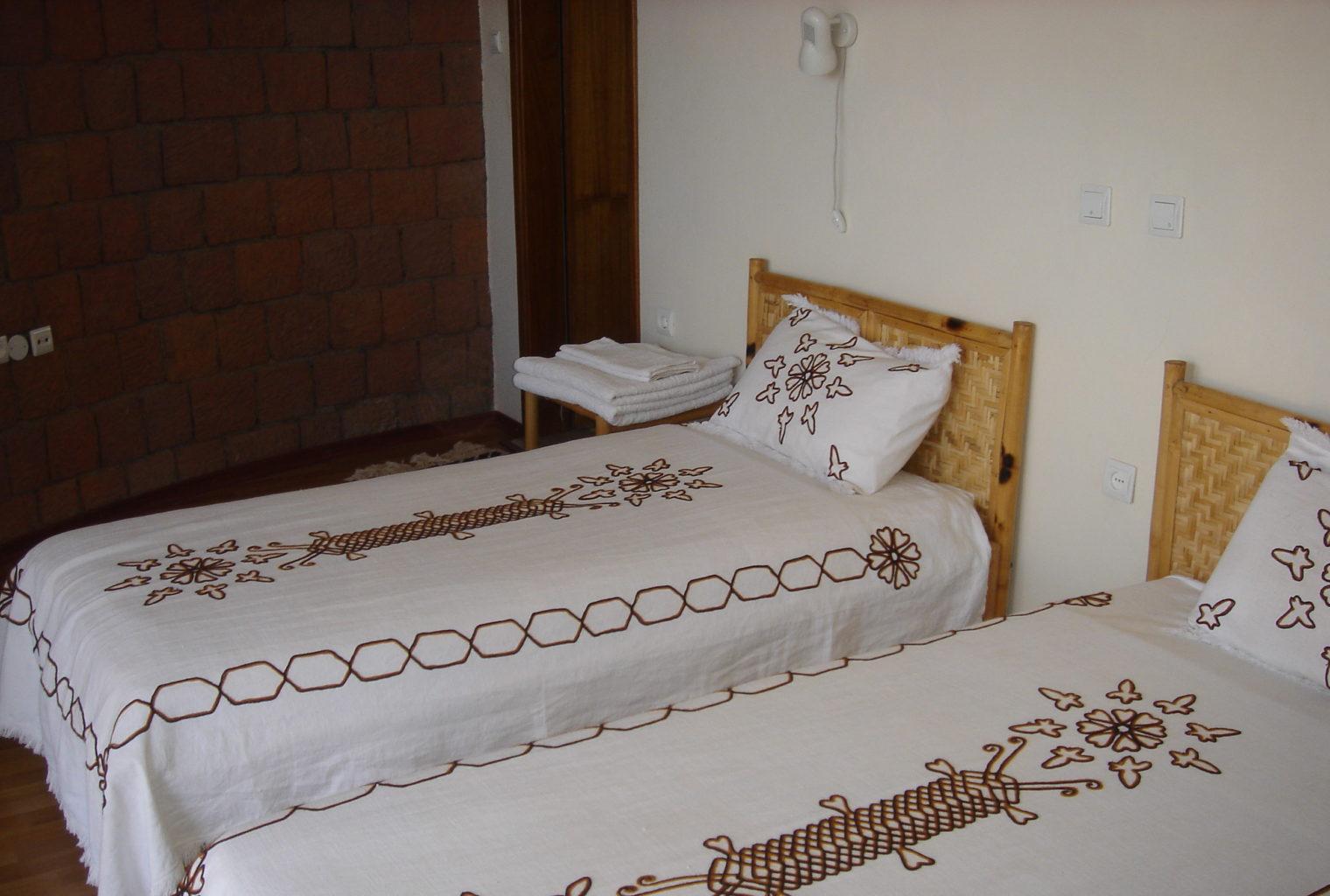 Tukul Village Ethiopia Beds