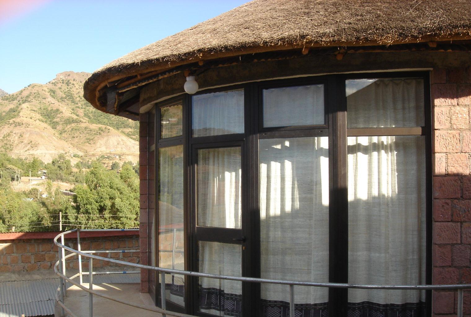 Tukul Village Ethiopia Exterior Window