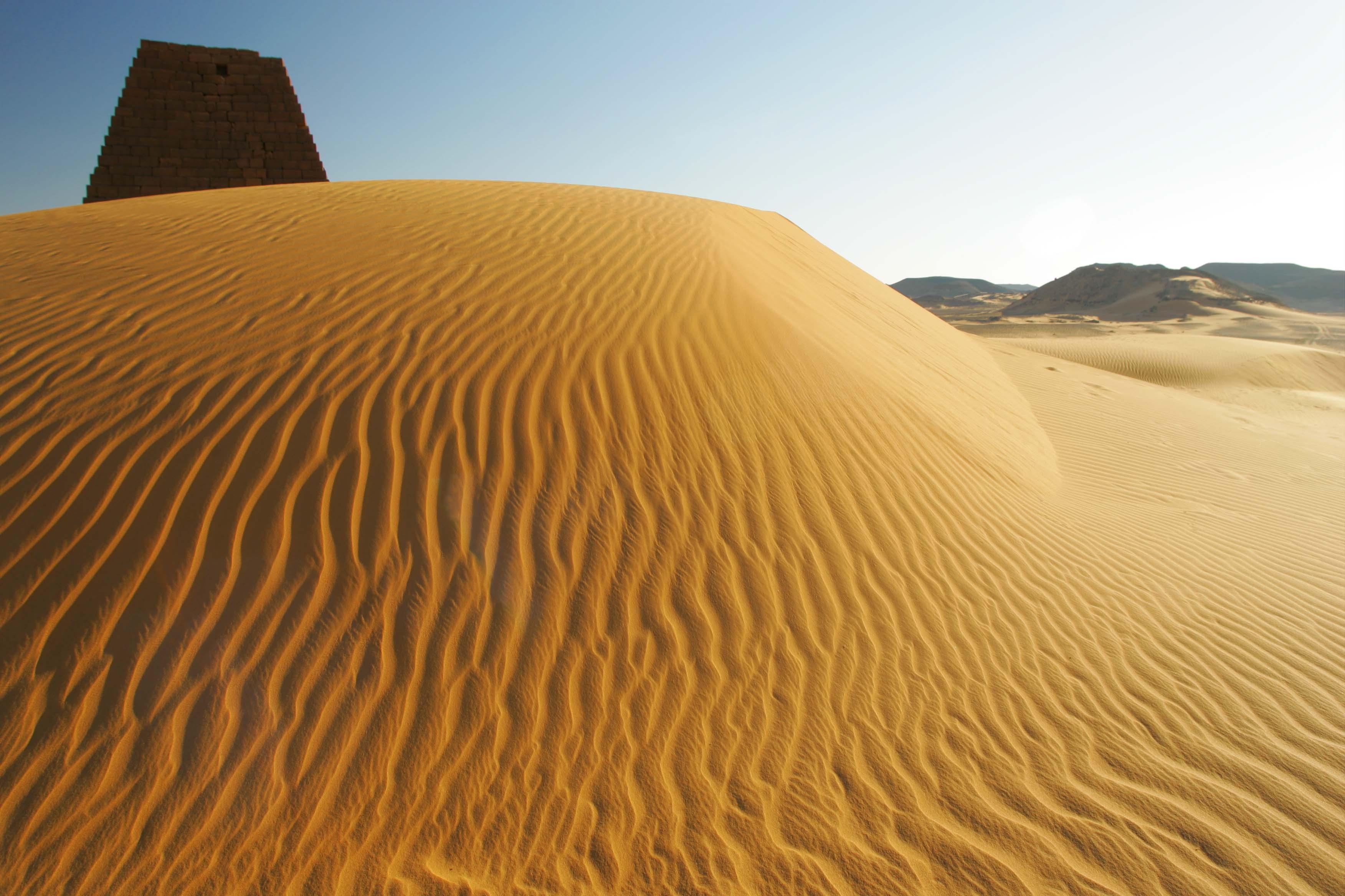Meroe Tented Camp Sudan Sand