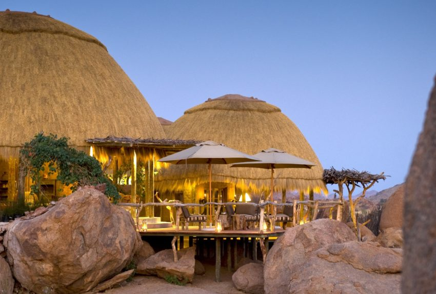 Camp Kipwe Namibia Deck