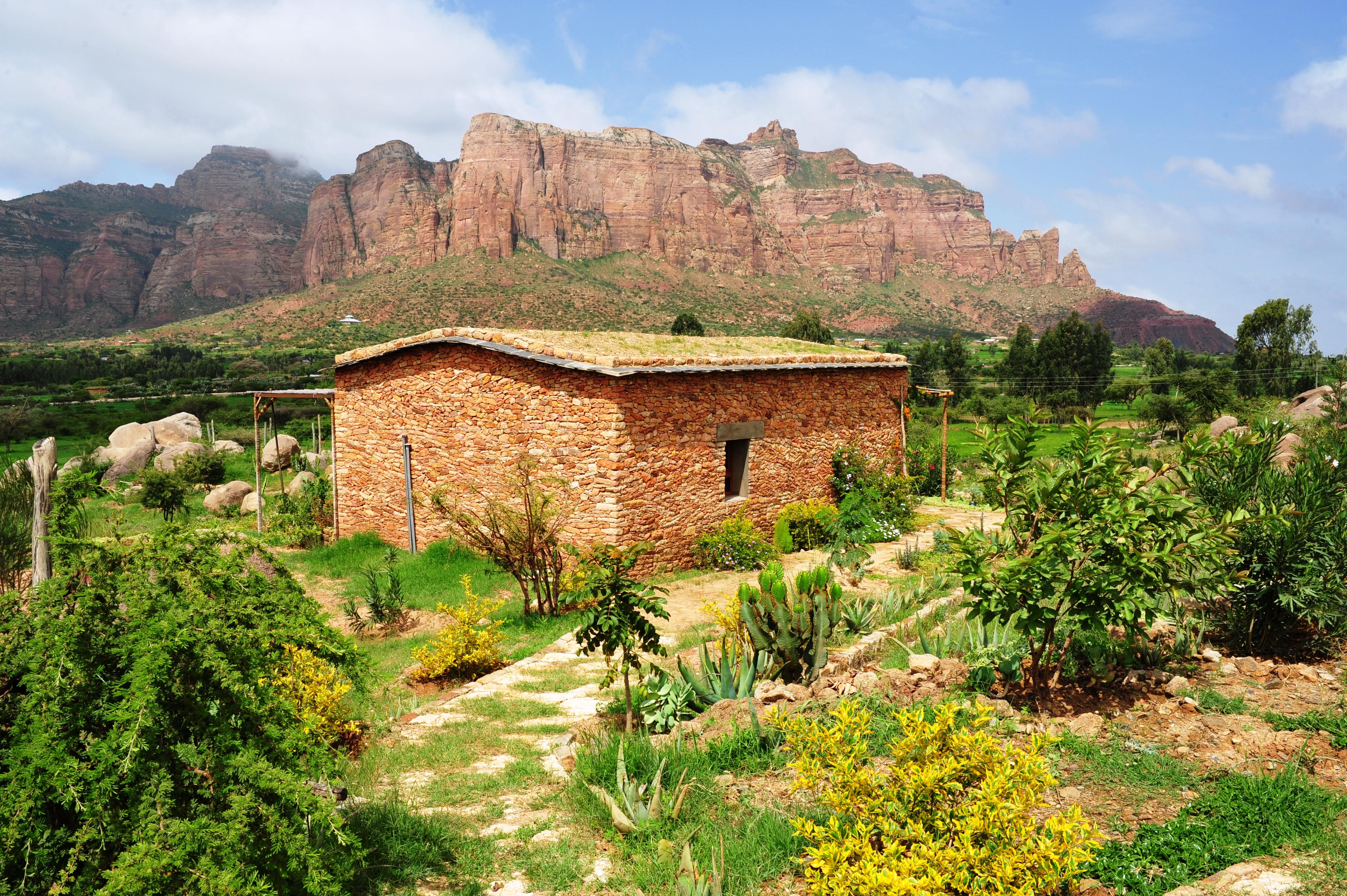 Korkor Lodge Ethiopia Exterior