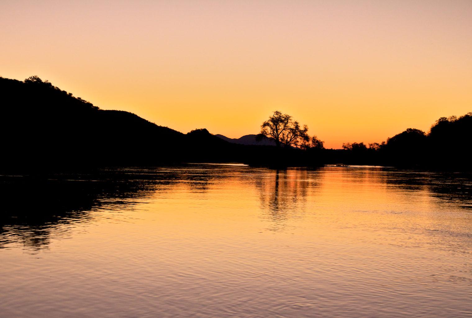 Kunene River Camp Sunset River