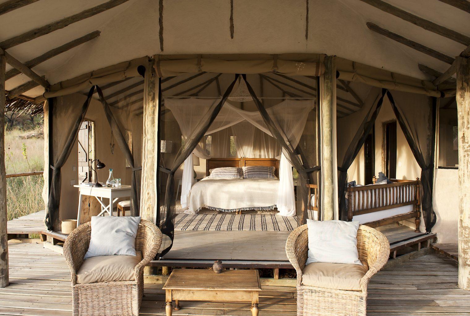 Lamai Serengeti Tanzania Bedroom