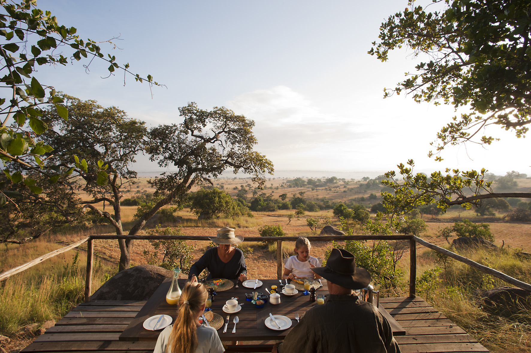 Lamai Serengeti Tanzania Verandah