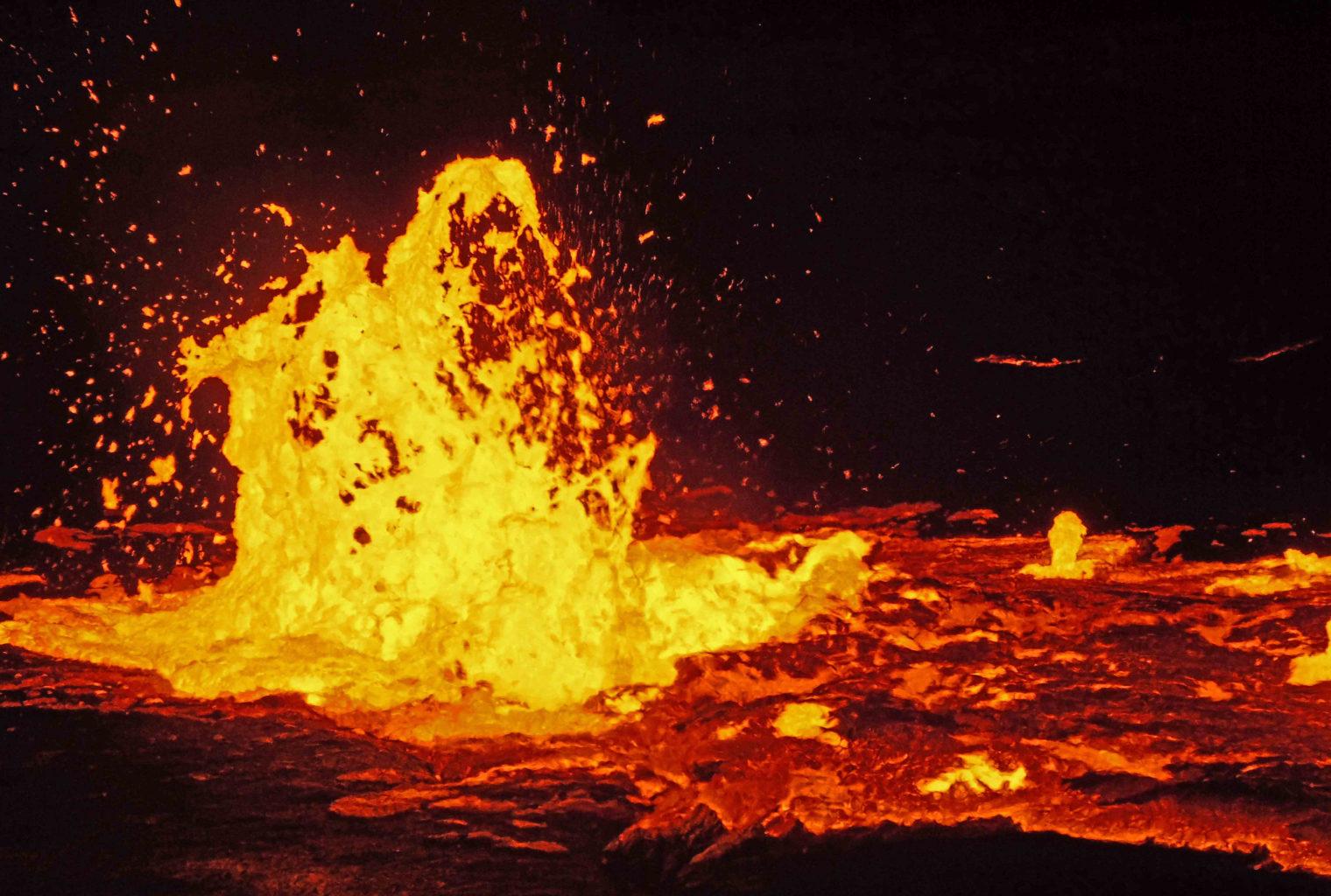 Danakil Ethiopia Lava