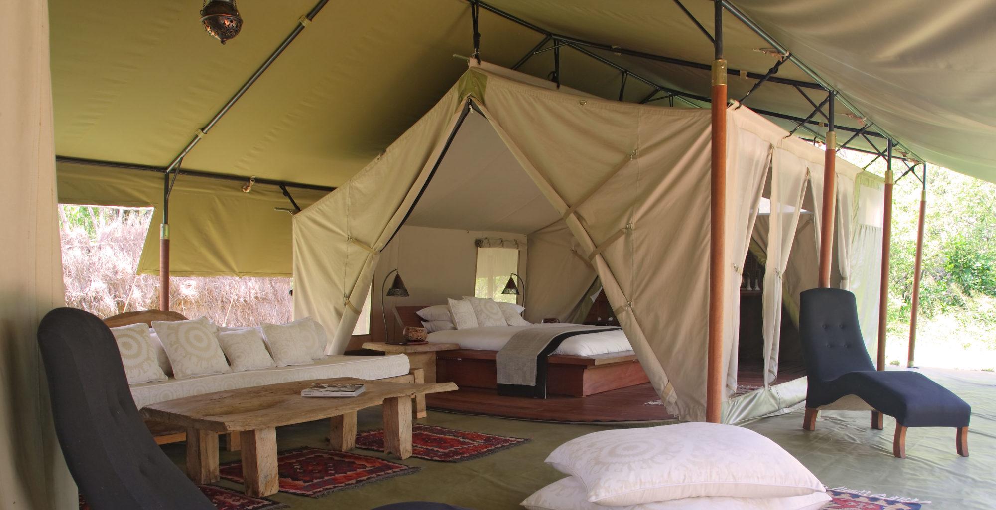 Naibor Keny living area