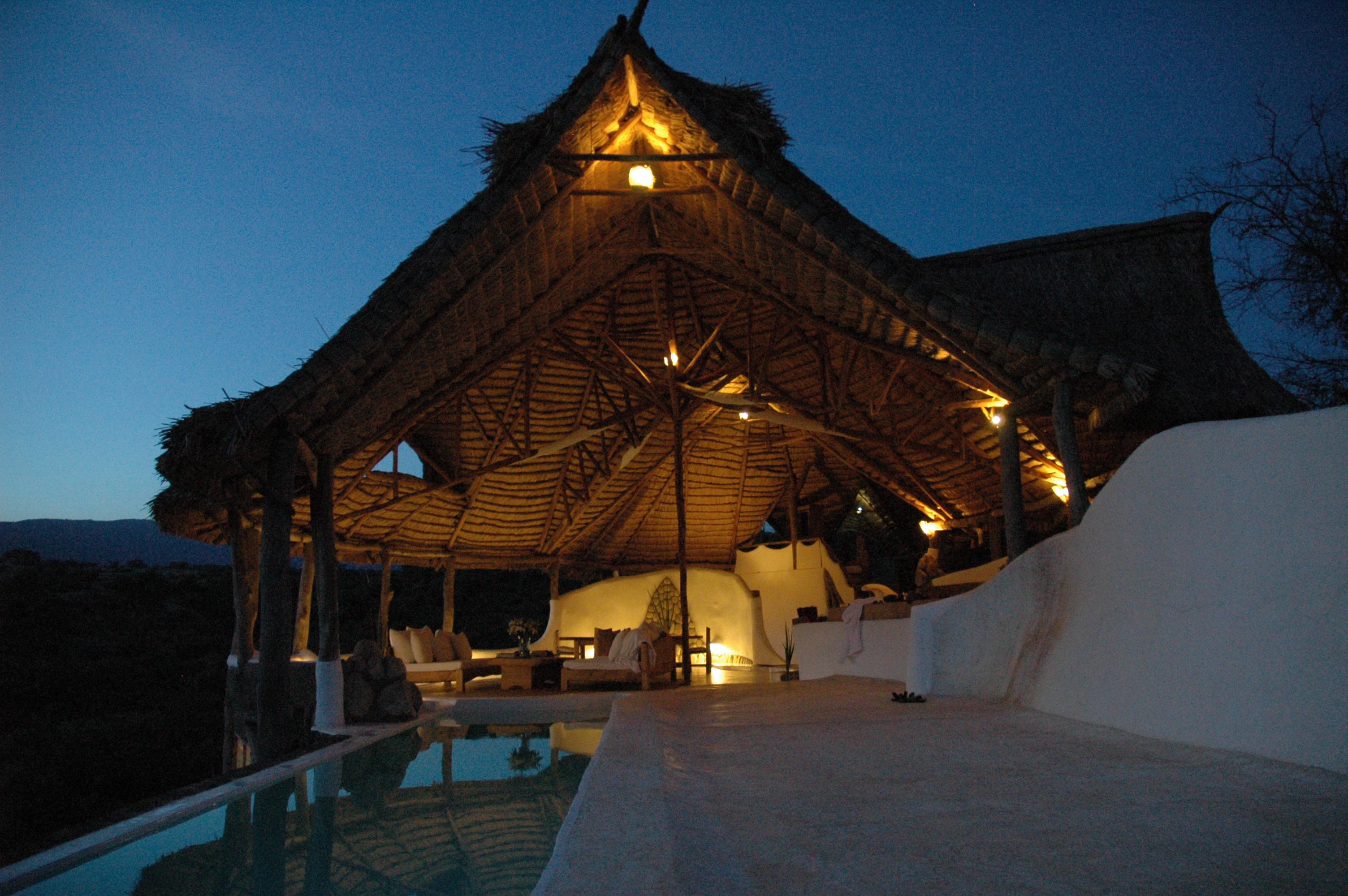 Little Shompole Kenya Exterior Night