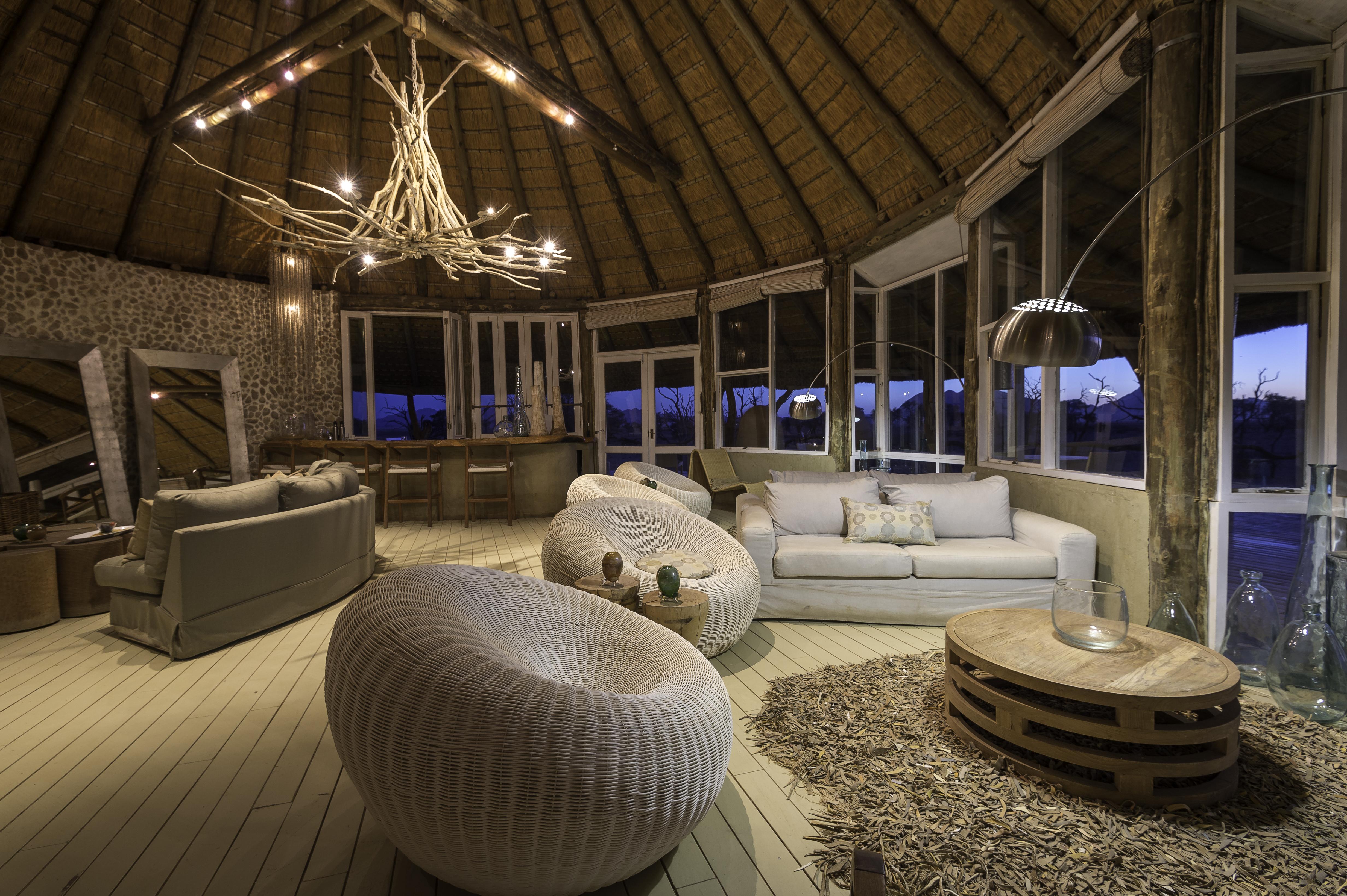 Little Kuala Lodge Namibia Lounge