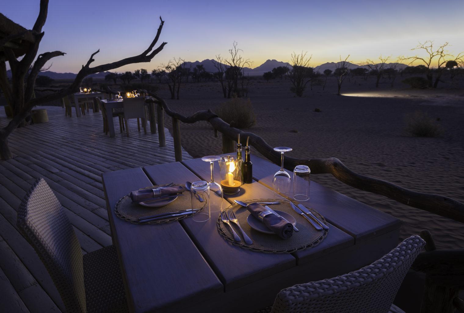 Little Kuala Lodge Namibia Deck
