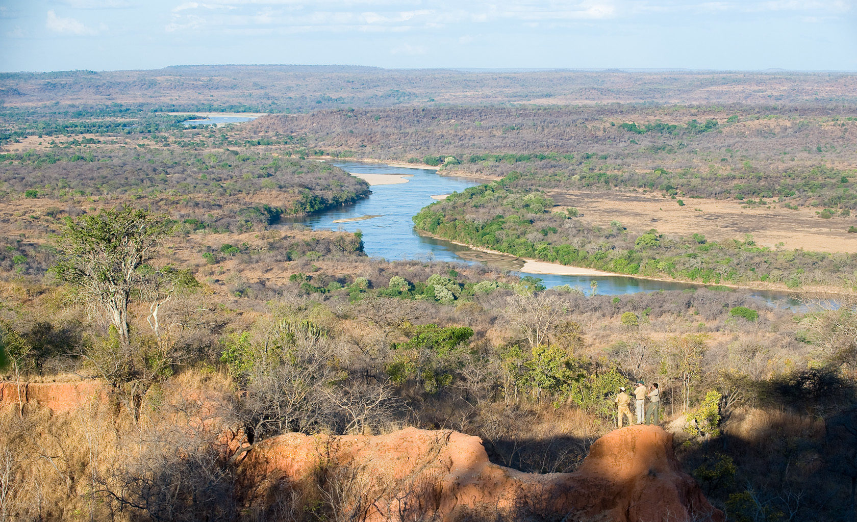 Tanzania-Selous-Game-Reserve-Landscape-Aerial
