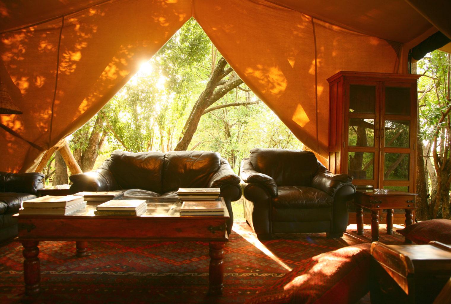 Mara Toto Kenya - sitting room