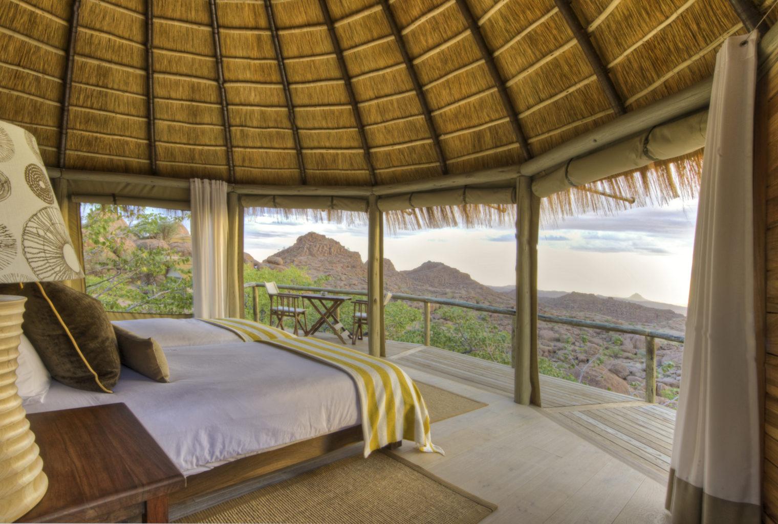 Mowani Mountain Camp, Namibia, Superior View Room,