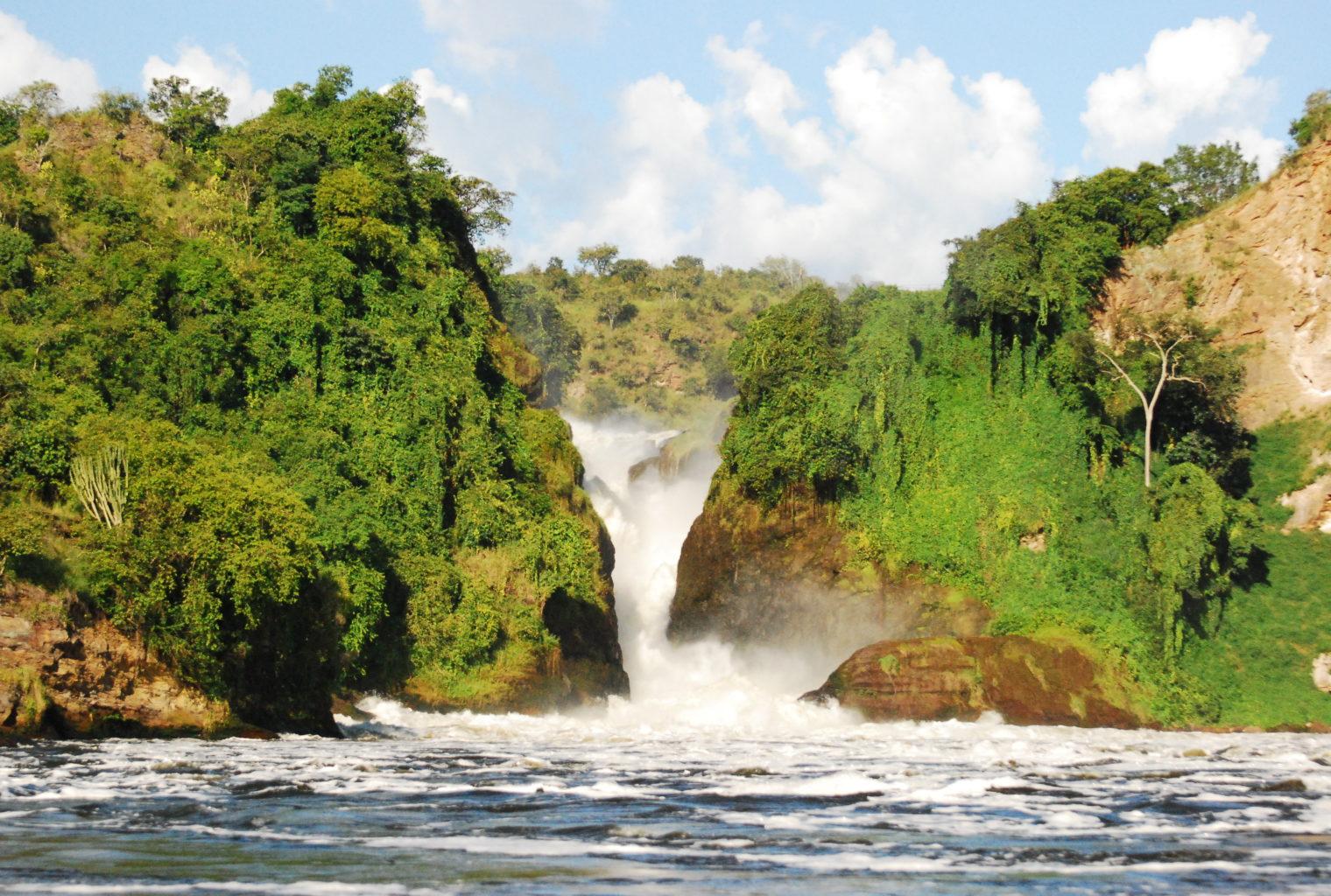 Murchison Falls Uganda Waterfall