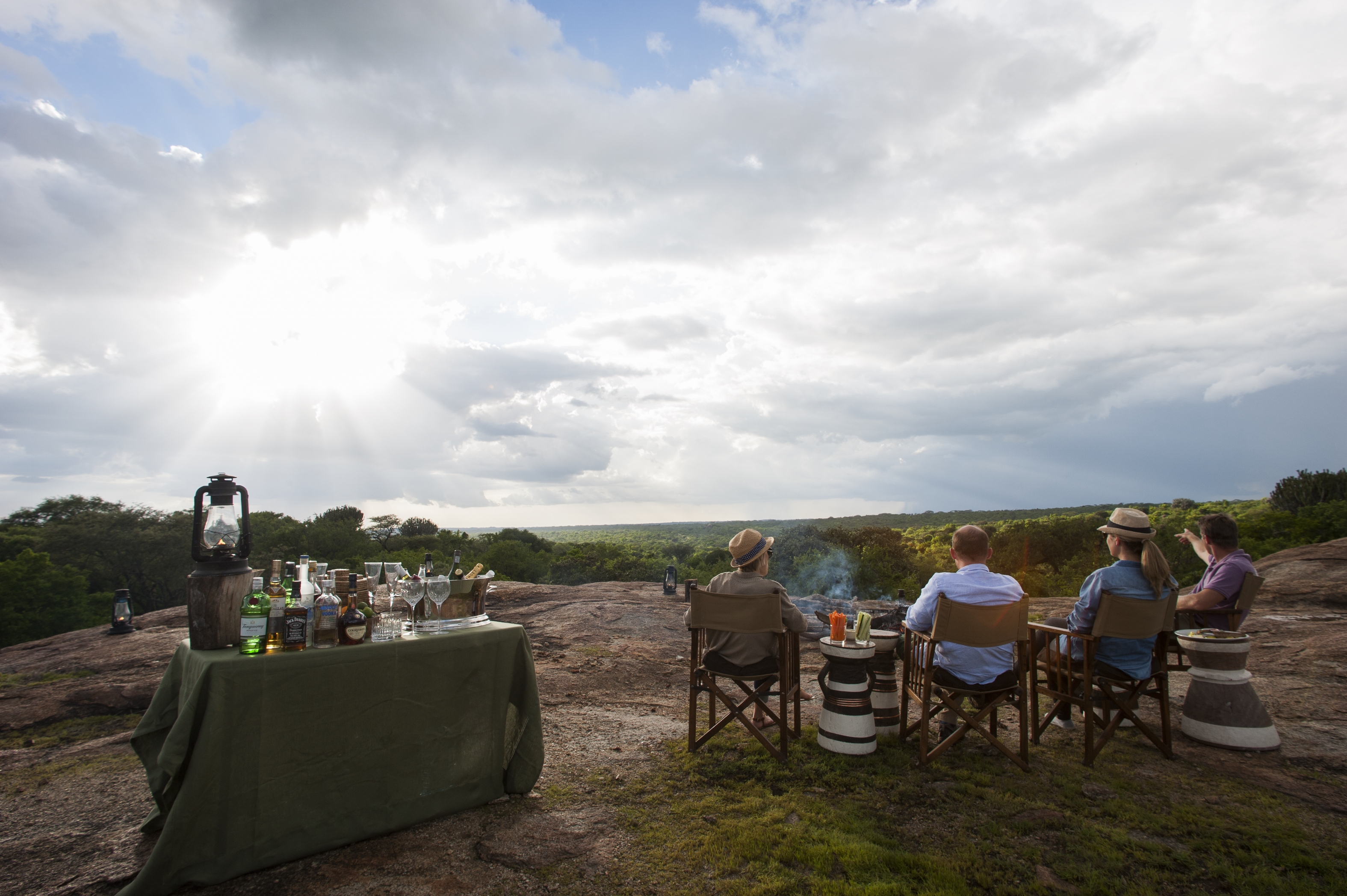 Mwiba Lodge - Mwiba Lodge Tanzania Sundowner
