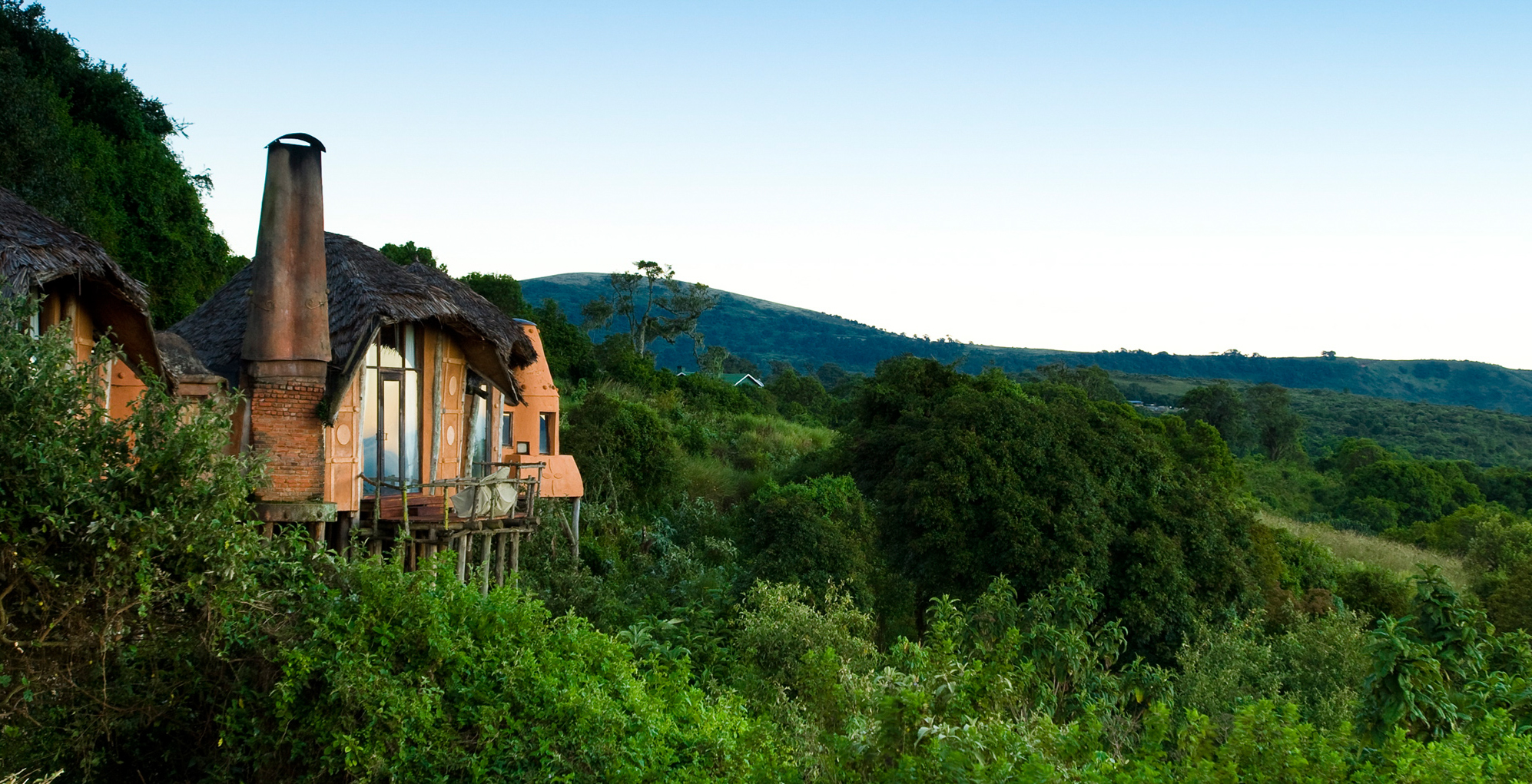 Ngorongoro Crater Lodge Exterior