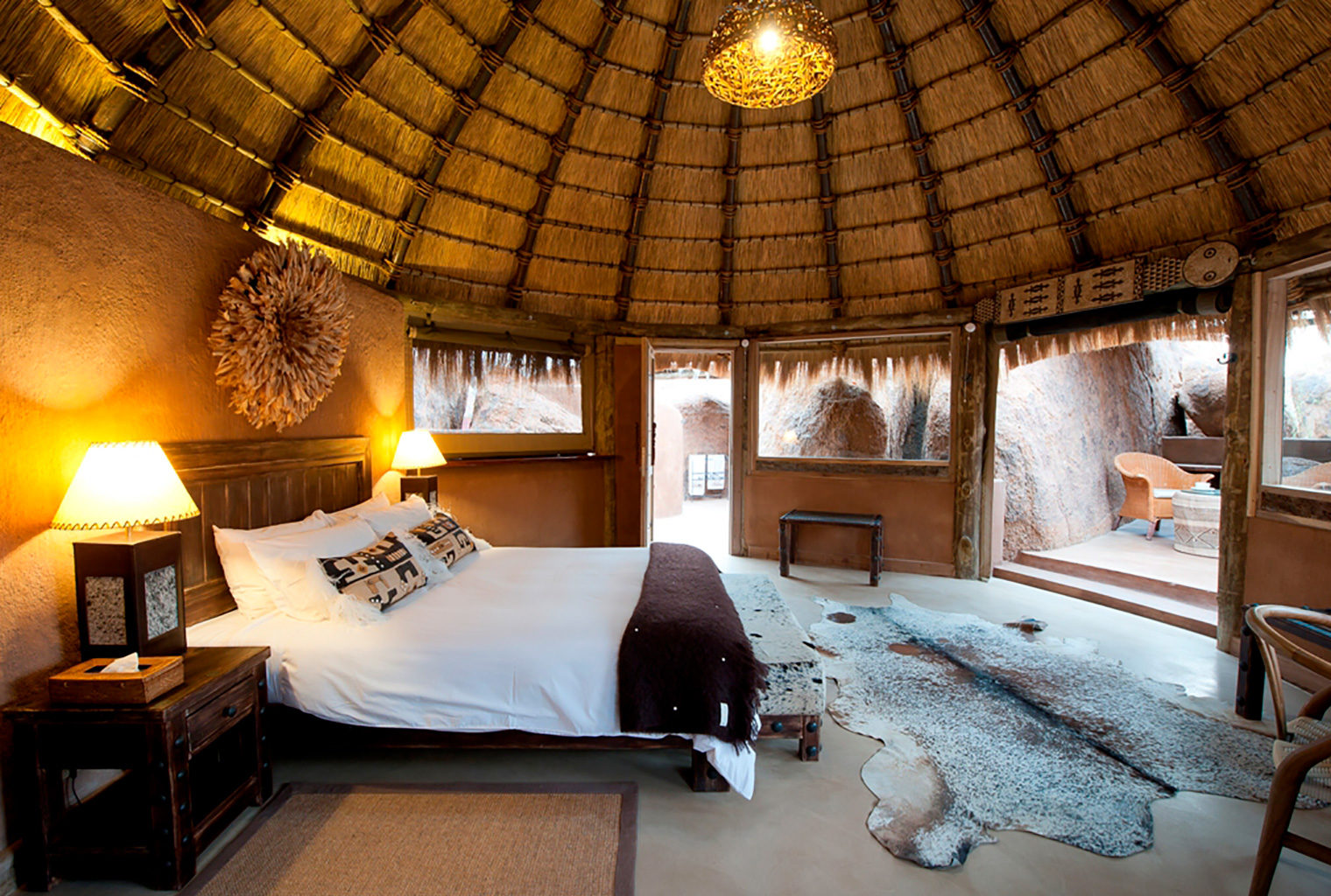 Mowani Mountain Camp, Namibia, Bedroom Suite