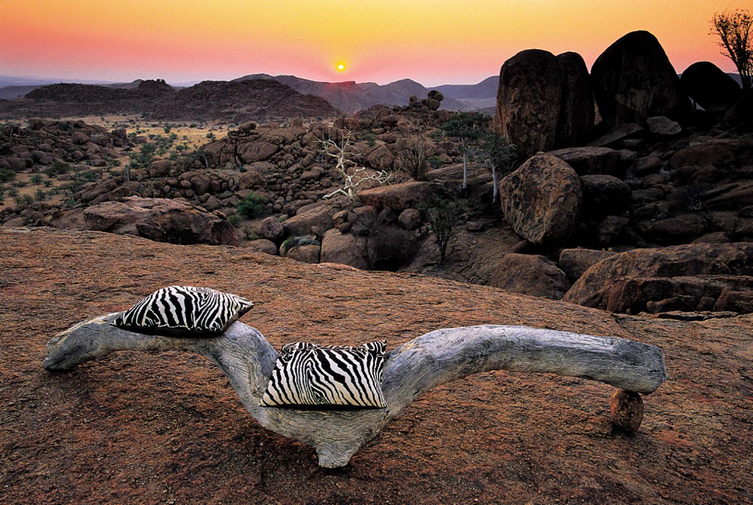 Mowani Mountain Camp, Namibia, View Point