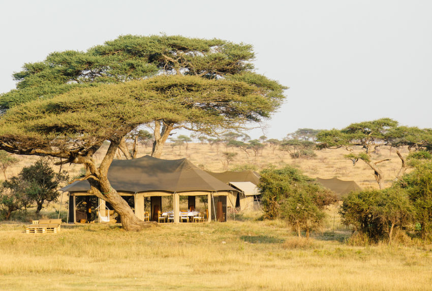 Namiri Plains Camp Tanzania Exterior