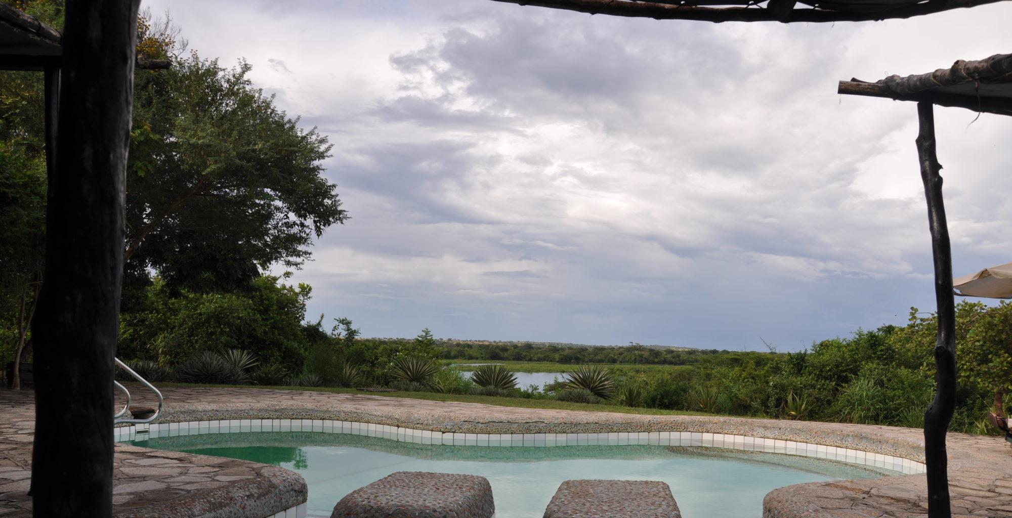 Nile Safari Lodge Swimming Pool