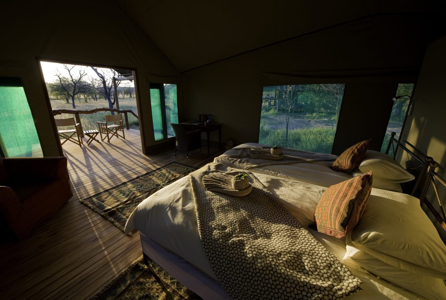Ongava Tented Camp Namibia Bedroom