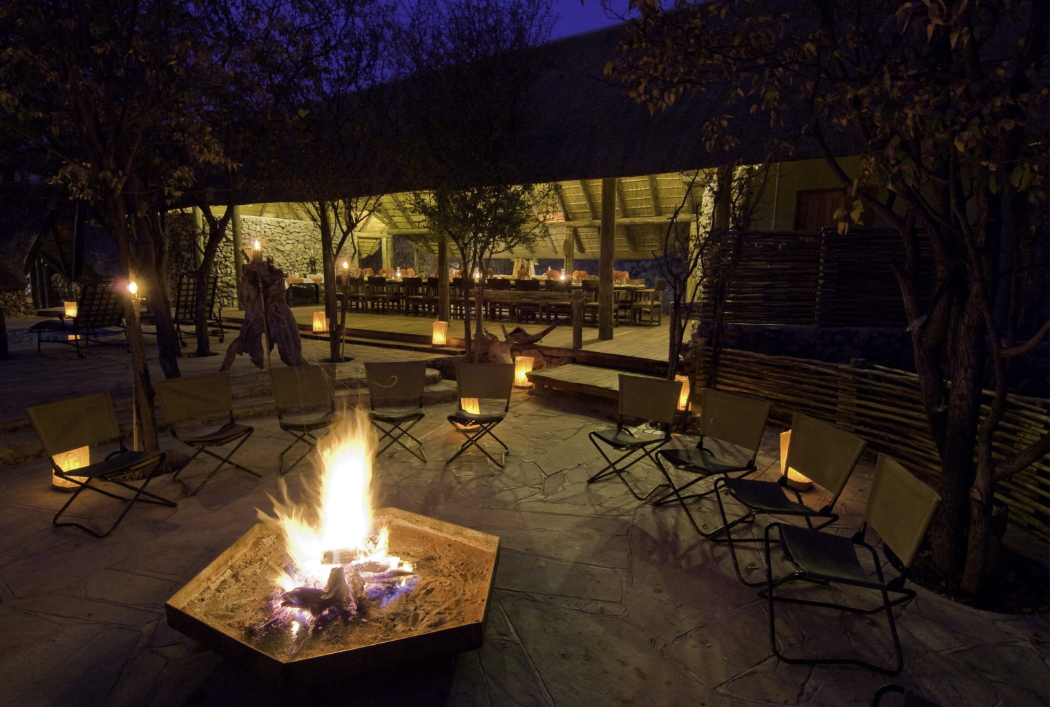 Ongava Tented Camp Namibia Fire Pit