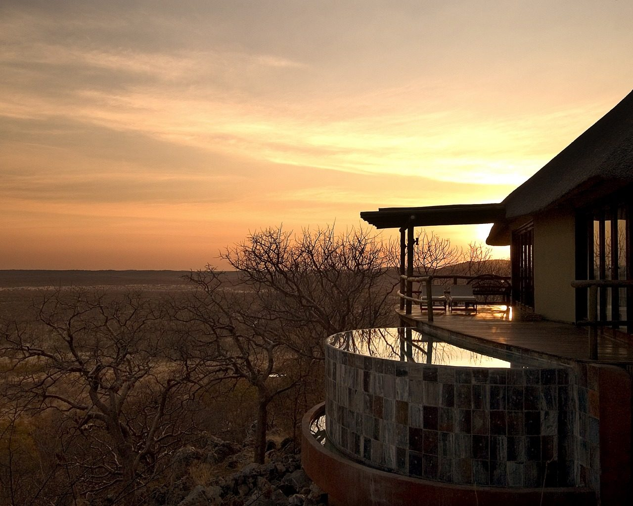 Little Ongava-Namibia-Sunset