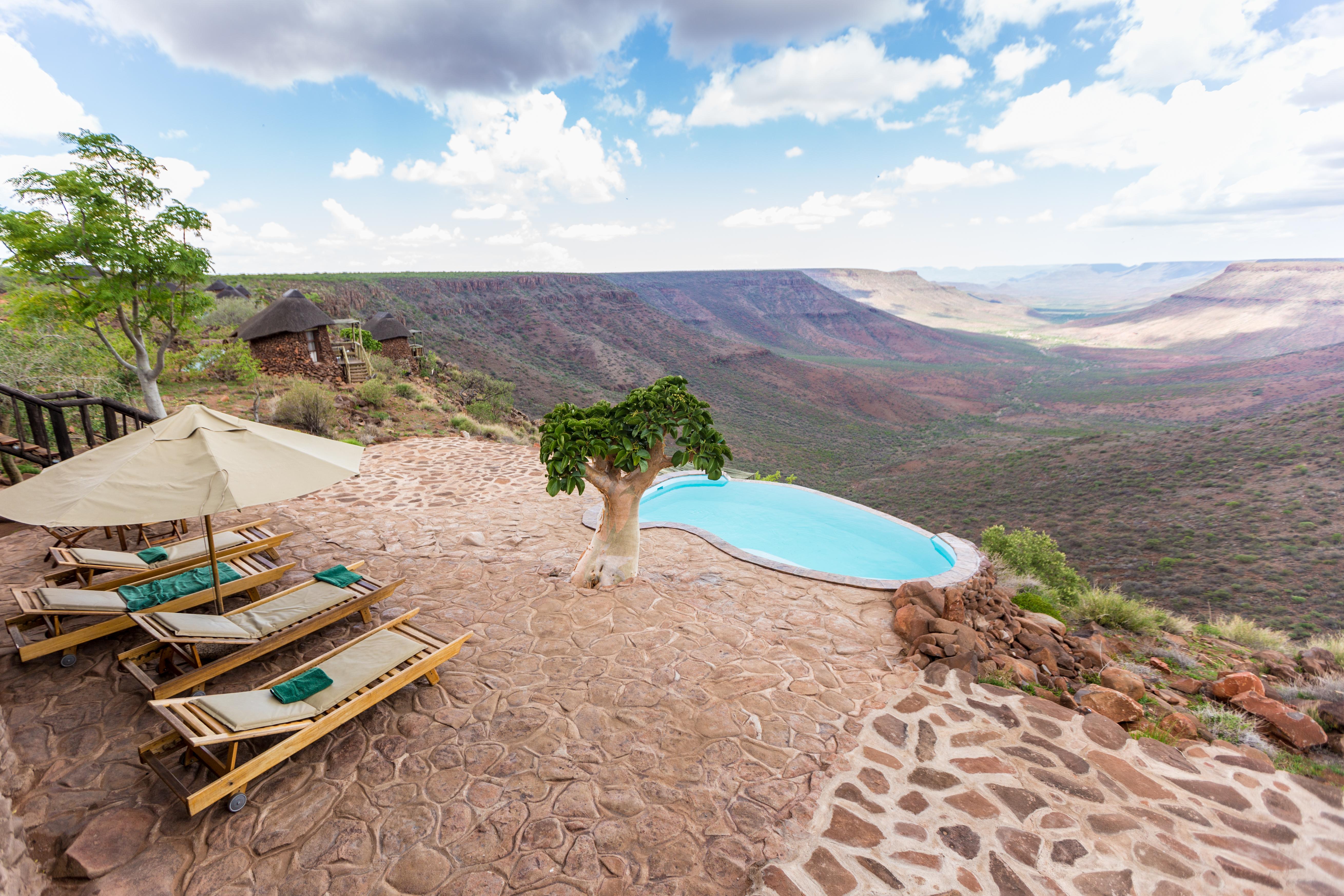 Grootberg Lodge Namibia Pool