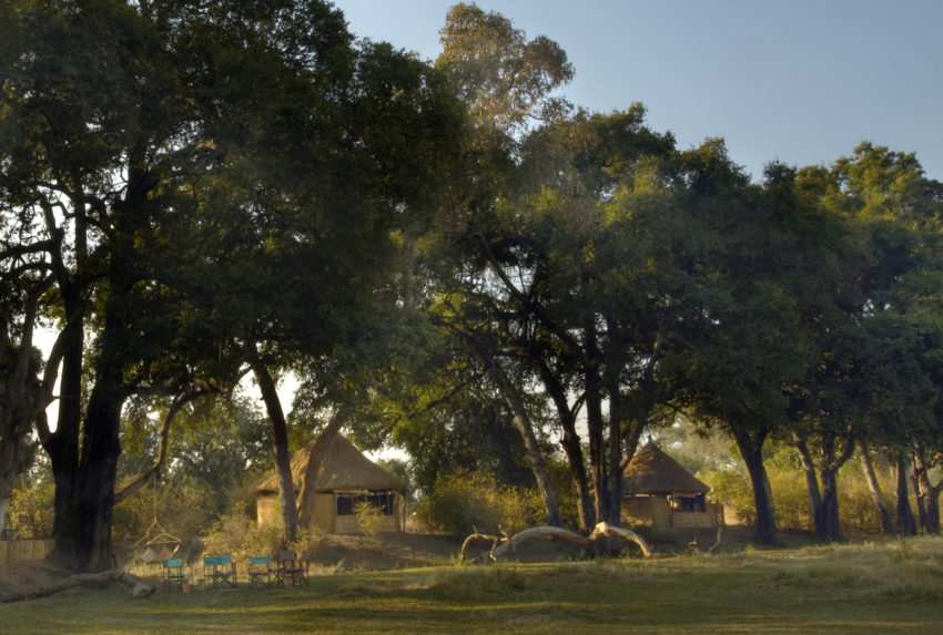 Zambia Crocodile Camp Exterior
