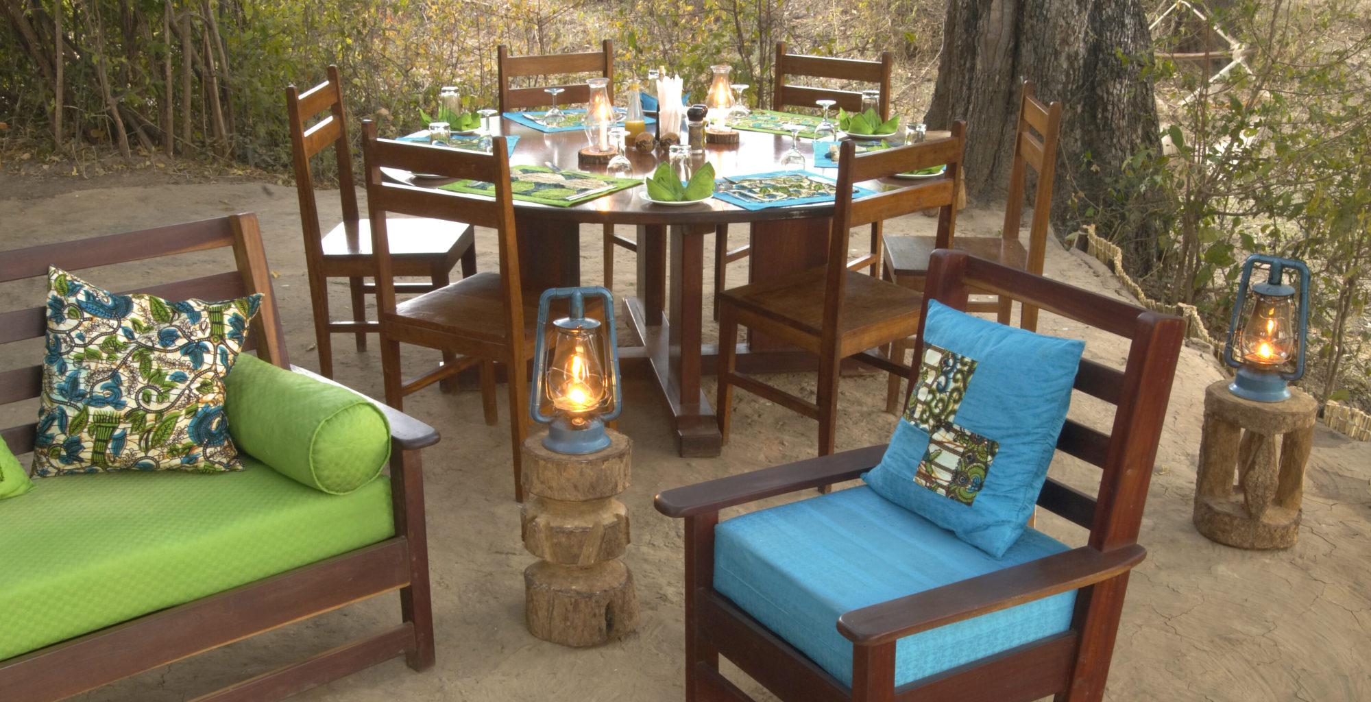 Zambia Crocodile Camp Lounge