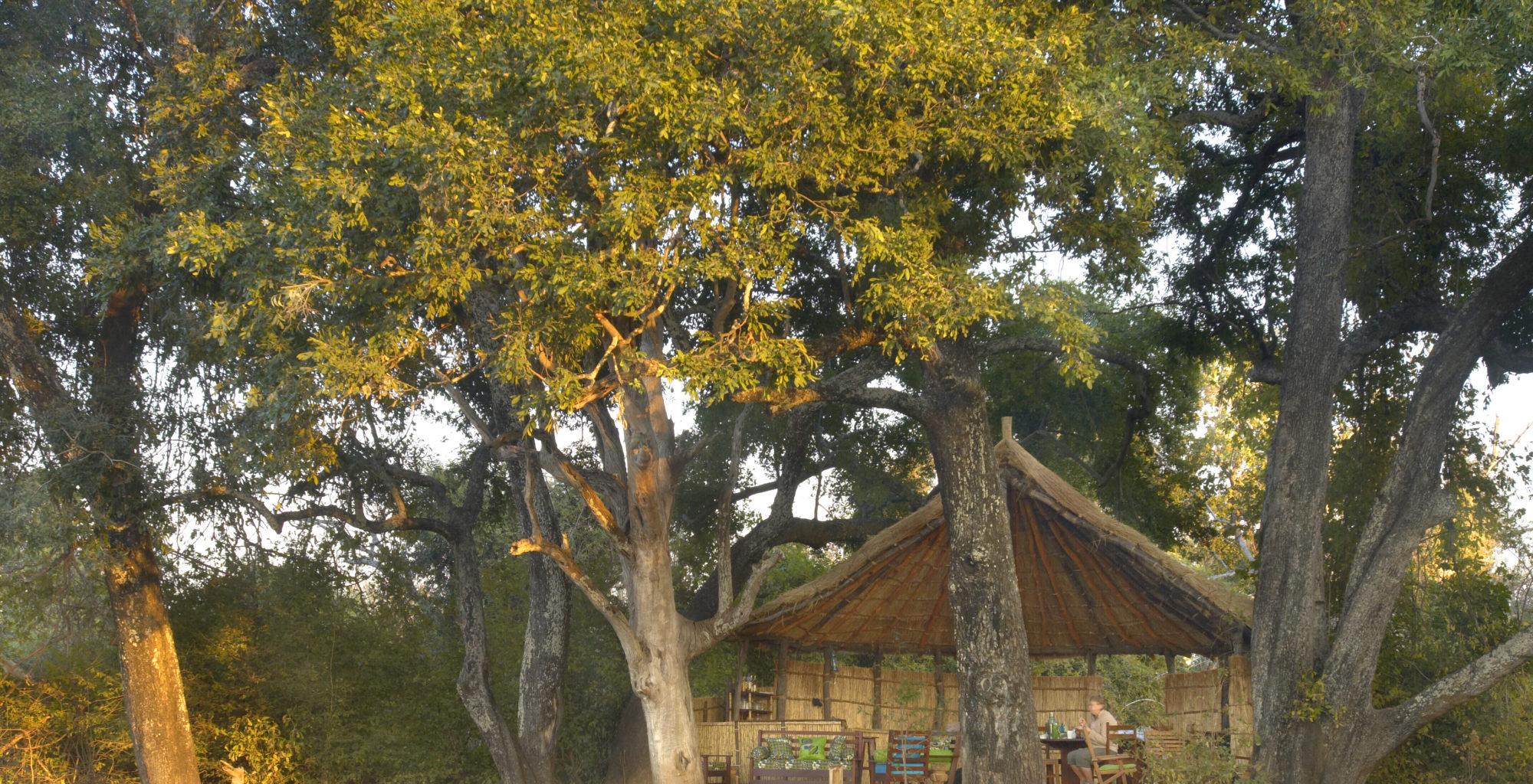 Zambia Crocodile Camp Exterior