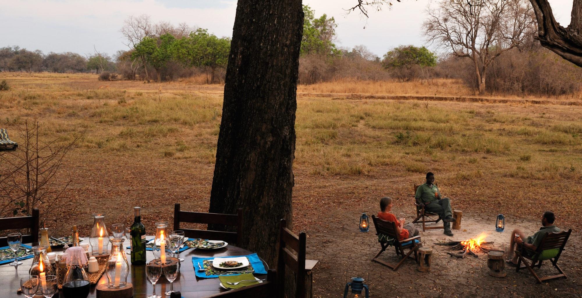 Zambia Crocodile Camp Fire