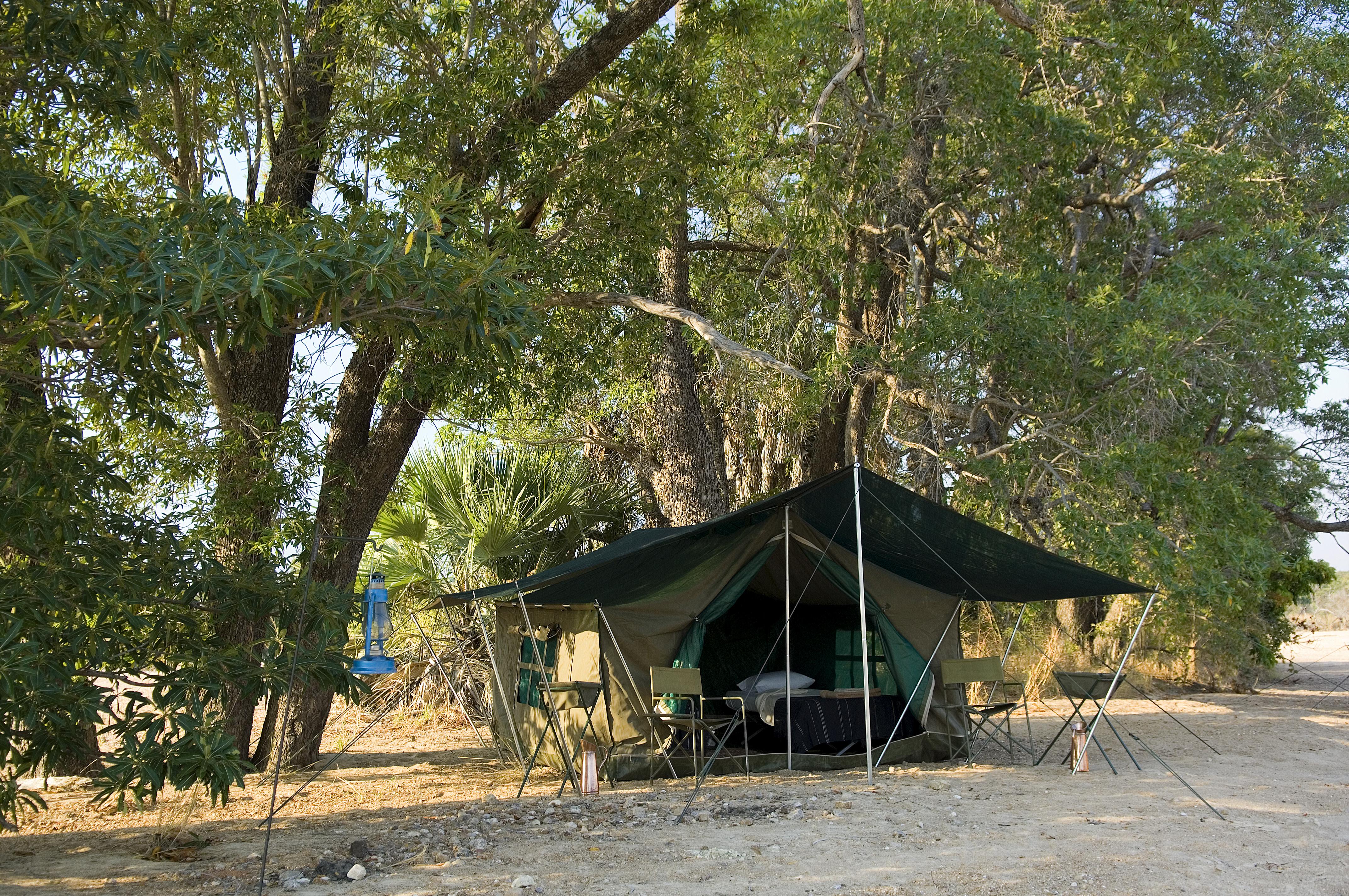 Luanga Bush Camping Zambia Exterior