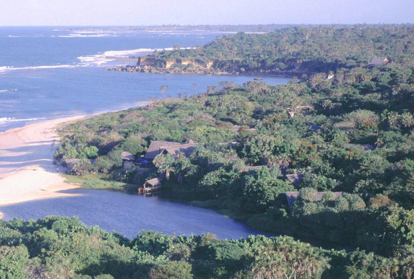 Tanzania-Ras-Kutani-Aerial