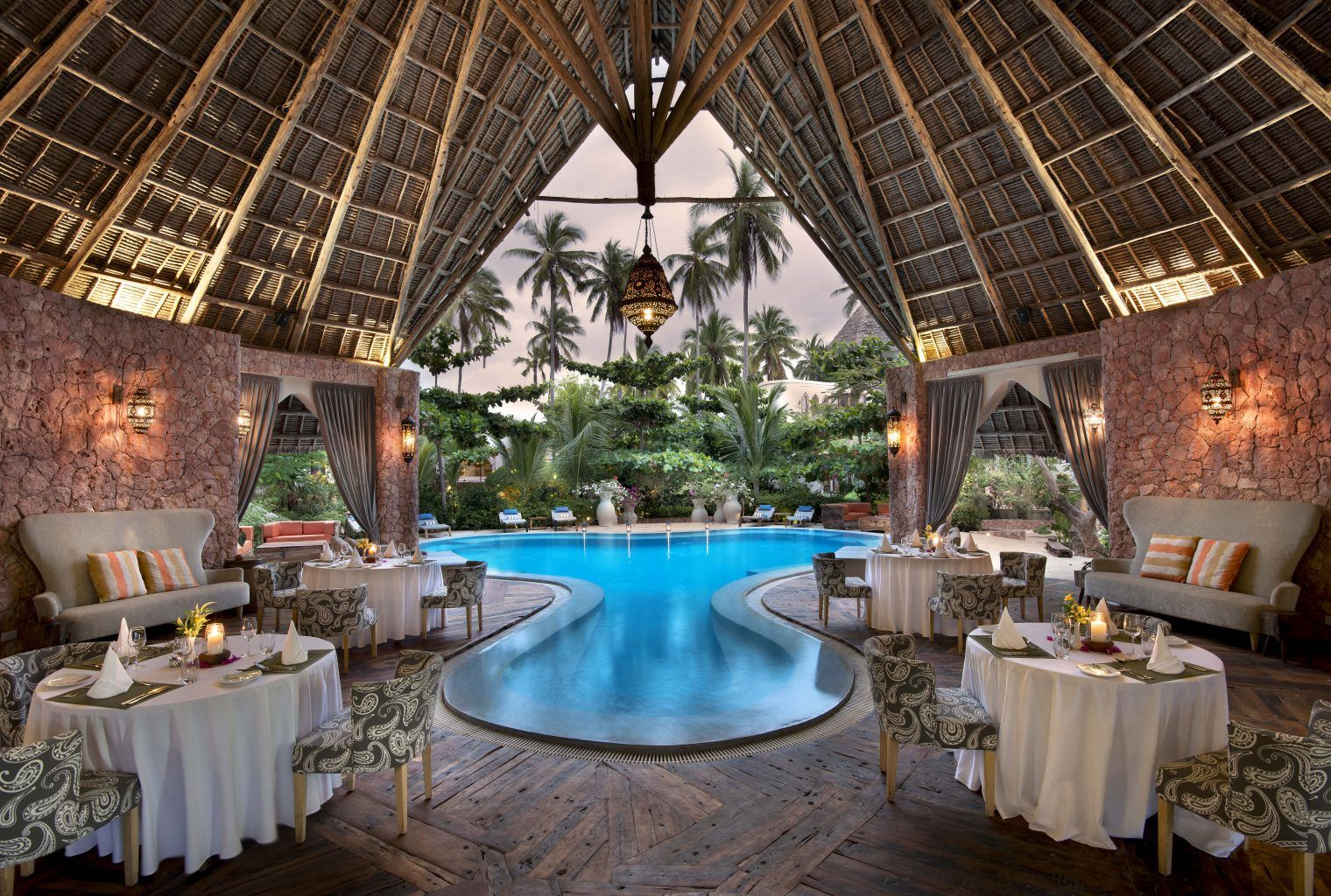 African safari destinations luxury bespoke travel for Xanadu villas zanzibar