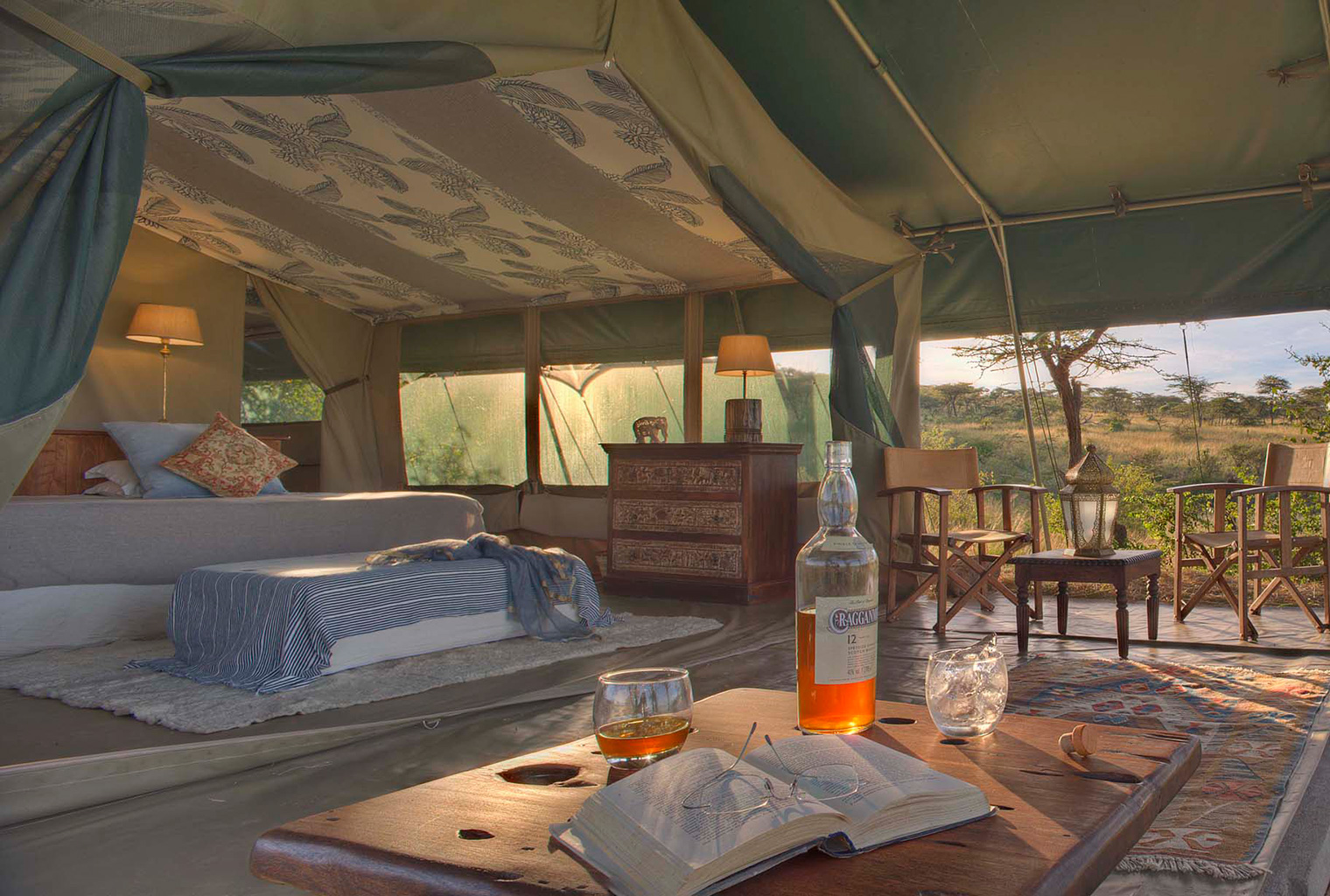 Richards-Private-River-Camp-Interior-Tent