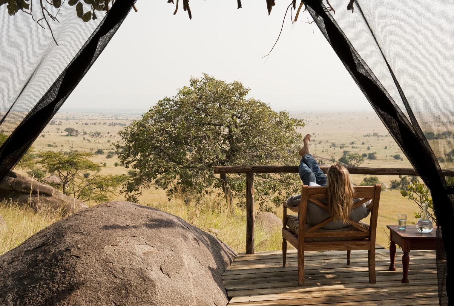 Lamai Serengeti Tanzania Veranda